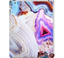 Agate Rocks, Slices of Earth iPad Case/Skin