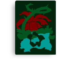 【8200+ views】Pokemon Bulbasaur>Ivysaur>Venusaur Canvas Print
