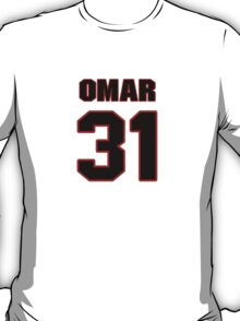 NFL Player Omar Bolden thirtyone 31 T-Shirt