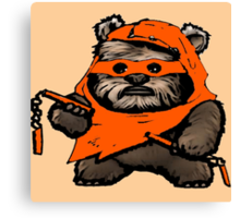 EWOK MICHAELANGELO Canvas Print