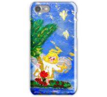 Angel in the Tropics Designer Art Decor & Gifts iPhone Case/Skin
