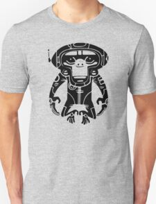 Black Space Monkeyz Graphic T-Shirt