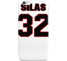 NFL Player Silas Redd thirtytwo 32 iPhone Case/Skin