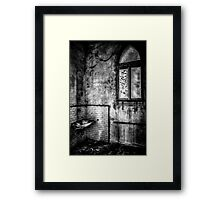 This is the way, step inside Framed Print