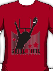Game Time - Football (Red) T-Shirt