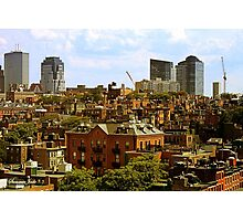 Beacon Hill Neighborhood ~ Boston Photographic Print