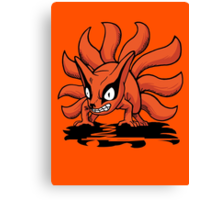【4400+ views】NARUTO: Nine-tails Kurama (九尾·九喇嘛) Canvas Print