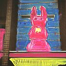 bunny building two by HelenAmyes
