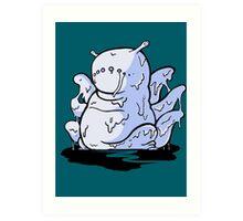 【2500+ views】NARUTO: Six-tails Saiken (六尾·犀犬) Art Print