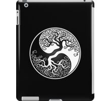 White and Black Tree of Life Yin Yang iPad Case/Skin