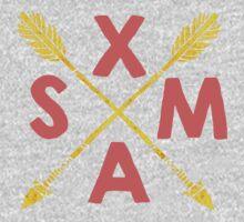 Golden Xmas Arrows Kids Clothes