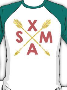 Golden Xmas Arrows T-Shirt