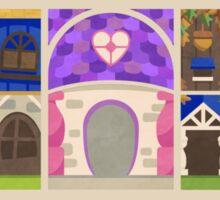 Toon Residents –Triptych Sticker
