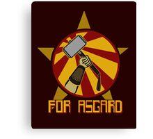 For Asgard! Canvas Print