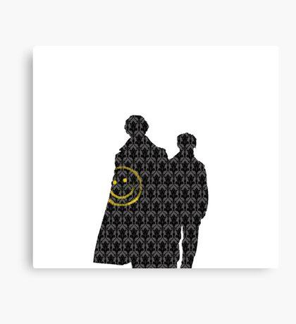 Sherlock Simple  Canvas Print