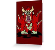 【3800+ views】NARUTO: Four-tails Son Goku (四尾·孫悟空) Greeting Card