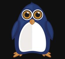 Blue Penguin 2 Baby Tee
