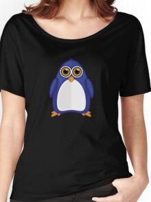 Blue Penguin 2 Women's Relaxed Fit T-Shirt