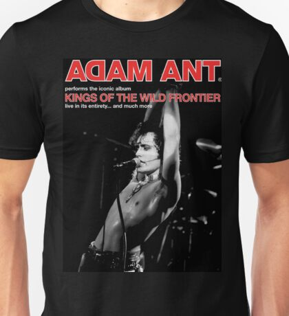 DAL01 Adam Ant Kings Of The Wild Frontier Tour 2017 Unisex T-Shirt