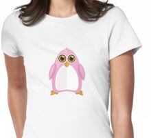Pink Penguin Womens Fitted T-Shirt