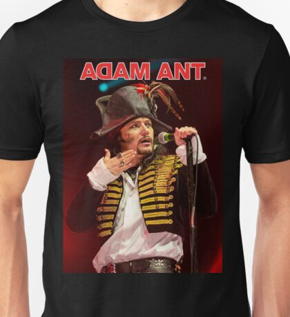 DAL04 Adam Ant Kings Of The Wild Frontier Tour 2017 Unisex T-Shirt