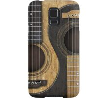 Old and Worn Acoustic Guitars Yin Yang Samsung Galaxy Case/Skin