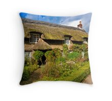 Country Cottage - North Yorkshire. Throw Pillow