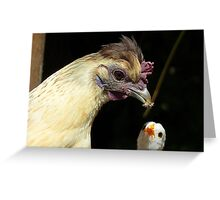 Wow!! I Need That One Mum... Hen And Chick - NZ Greeting Card
