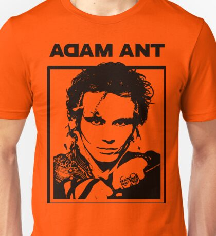 DAL06 Adam Ant Kings Of The Wild Frontier Tour 2017 Unisex T-Shirt