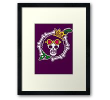 【1900+ views】ONE PIECE: Jolly Roger of Brook Framed Print