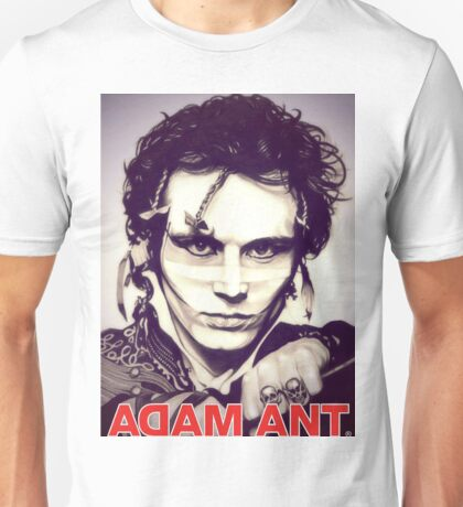 DAL07 Adam Ant Kings Of The Wild Frontier Tour 2017 Unisex T-Shirt