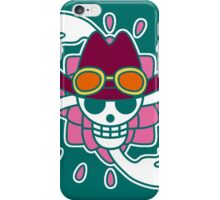 【2000+ views】ONE PIECE: Jolly Roger of Nico Robin iPhone Case/Skin