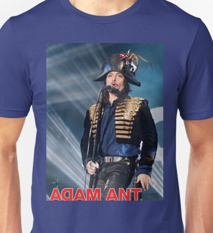 DAL08 Adam Ant Kings Of The Wild Frontier Tour 2017 Unisex T-Shirt