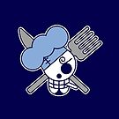 【2600+ views】ONE PIECE: Jolly Roger of Sanji by Ruo7in