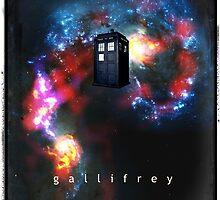 T.A.R.D.I.S. in space - Gallifrey by fantasytripp