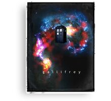 T.A.R.D.I.S. in space - Gallifrey Canvas Print