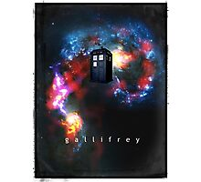 T.A.R.D.I.S. in space - Gallifrey Photographic Print