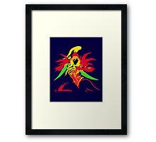 Valeera Hearthstone Pop style Framed Print