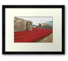We will Remember them. Framed Print