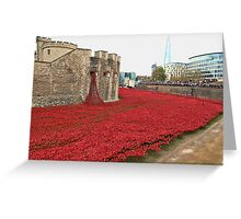 We will Remember them. Greeting Card