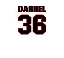 NFL Player Darrel Young thirtysix 36 Photographic Print
