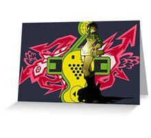 "Jet Set/Grind Radio - ""GUM"" Greeting Card"