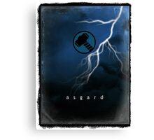 Thor from Asgard Canvas Print
