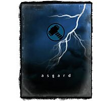 Thor from Asgard Photographic Print