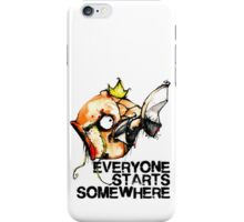 Magikarp Everyone Starts Somewhere iPhone Case/Skin