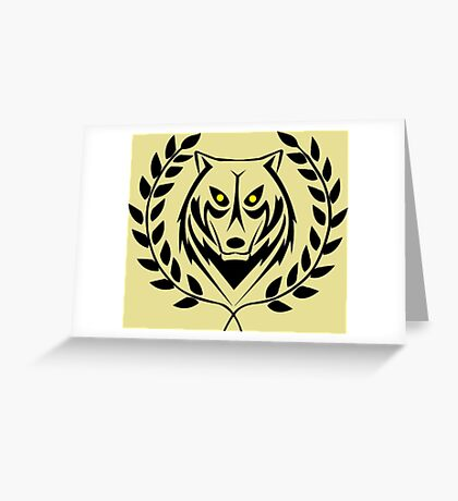 jungle master Greeting Card