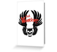 THE WARRIORS symbol Greeting Card