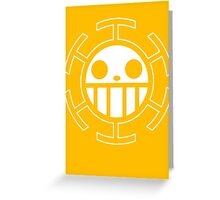 【4500+ views】ONE PIECE: Jolly Roger of Trafalgar Law Greeting Card