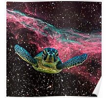 SPACE TURTLE Poster