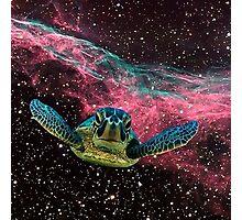 SPACE TURTLE Photographic Print